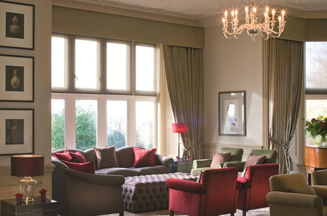Hartsfield Manor Interior Lounge